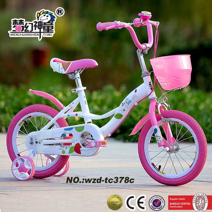 china baby girl bike different color kid bicycle pink lovely bike for kid