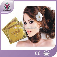 Hot Selling Effectively Anti Aging and Nano Moisturing 99% Pure 24 Gold Foil Facial Mask For Spa