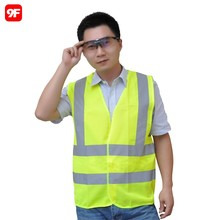 100% polyester cheap wholesale hi vis safety vest reflective vest