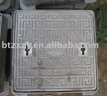 square manhole cover, manhole top