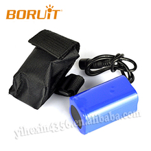 2018 Boruit Hot sale 8.4V 4800mAh Rechargeable 18650 Li-ion Battery Pack for Bike Bicycle Light