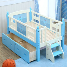 new design cheap pine wooden toddler bed and baby cots pictures for sale