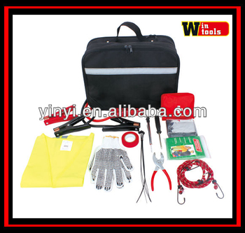 YYS12082 Duluxe auto roadside emergency kit