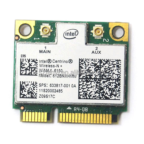 Intel Centrino Advanced-N WiMAX 6150 612BNX HMW Half Mini PCI-e 500m wireless wifi for IBM