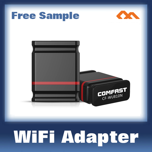 COMFAST CF-WU810N Realtek RTL8188EUS Usb Wifi Dongle Mini 150Mbps Wireless Lan Adapter Mini Usb Wifi Adapter