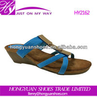2014 summer PU sandal shoes for women