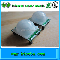 infrared sensor module pcb board assembly,led lampshade waterproof pcba OEM factory