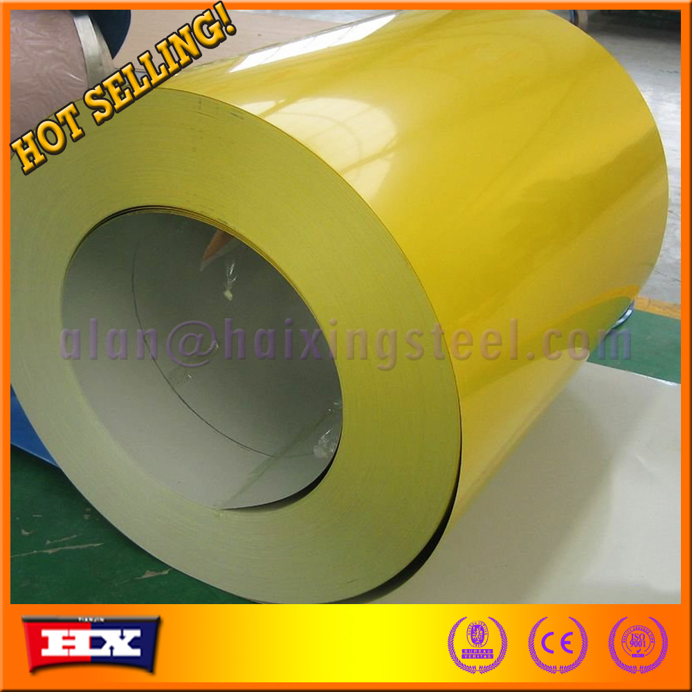 in stock Prepainted GI steel coil / PPGI / PPGL color coated galvanized steel <strong>sheet</strong> in coil