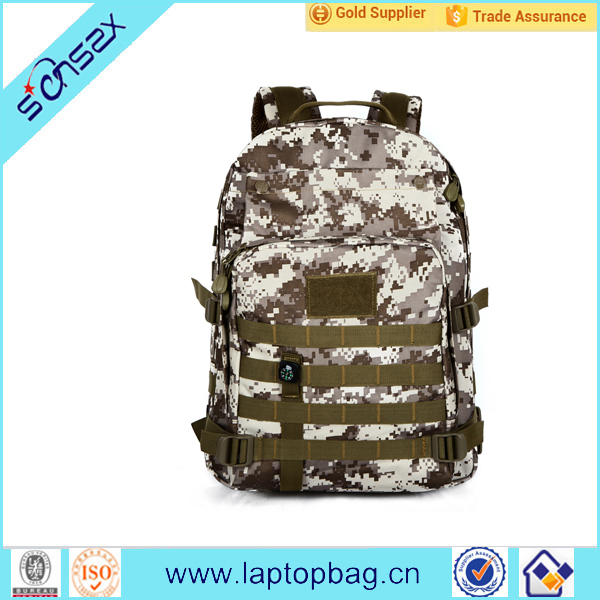 Camouflage army shoulder travelling bags