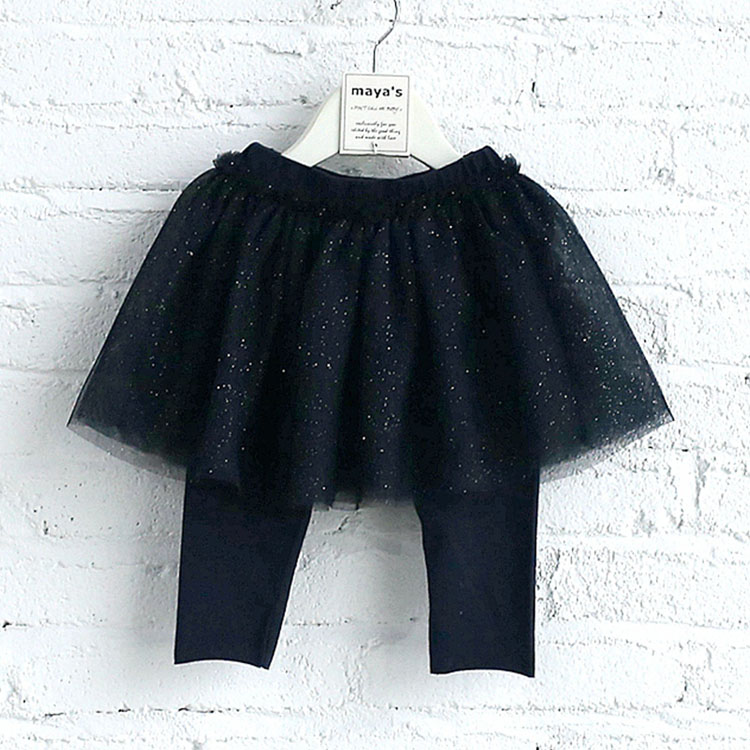 Children's Girls Culottes Long Pants Skirt Baby Culotte Dress