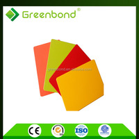 Greenbond aluminum trailer side panel with high gloss pvdf coating from china
