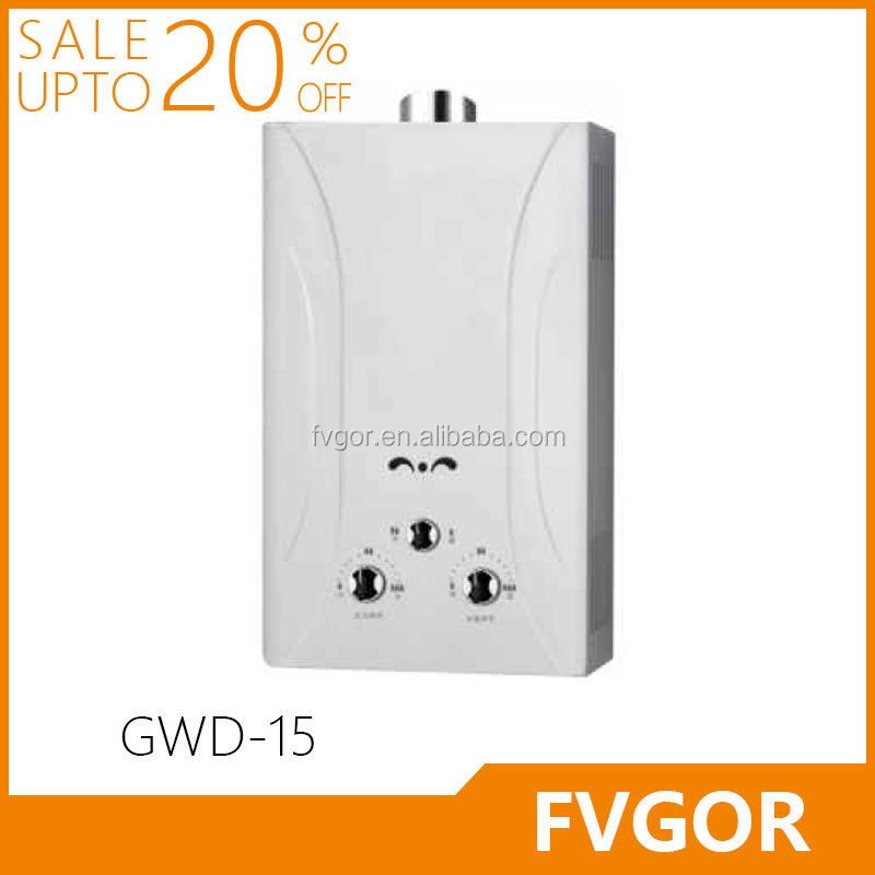 GWD-15 FVGOR Factory Wholesale Junkers Pakistan Instant Gas Water Heater Prices