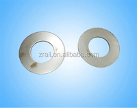 laminated rubber bearing for train