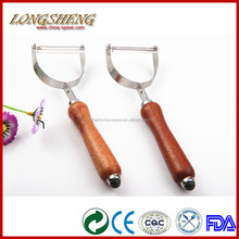 Hot Sale of Grater HGF015 Wooden Handle Peeler