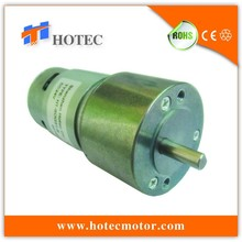 metal gear spur gearbox high torque 24V 100 rpm DC motor