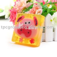 cartoon natural herbal handmade soap