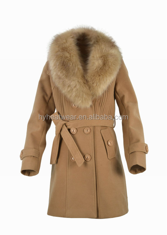 Electric Thermal Battery Heated Winter Coat,Long Fur Hooded Women Coats