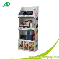 Floor display rack for supermarket/ cardboard dish washer stand display