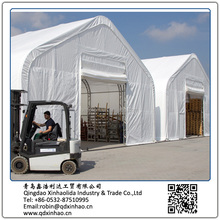 XH4060 steel frame outdoor big warehouse tent/storage shelter for sale