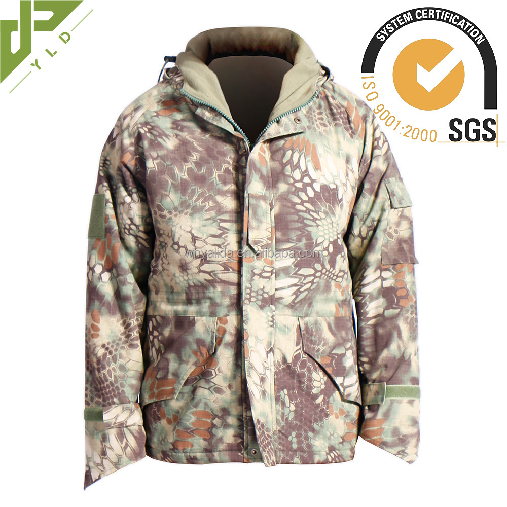 outdoor breathable camouflage jackets for men