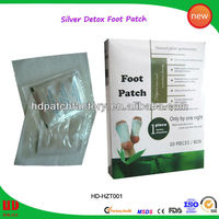 wholesale high quality with CE hot new bamboo vinegar detox foot patch