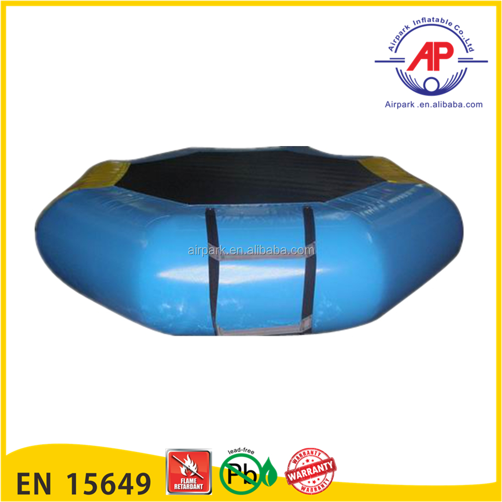 Custom PVC inflatable water blob trampoline