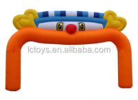 Custom High quality inflatable advertising arch with cartoon for sale
