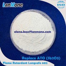 High Quality Green Flame Retardant Longsafe 602 instead of Sb2O3 . Inorganic-organic-mixed Flame Retardant using in Rubber Indus