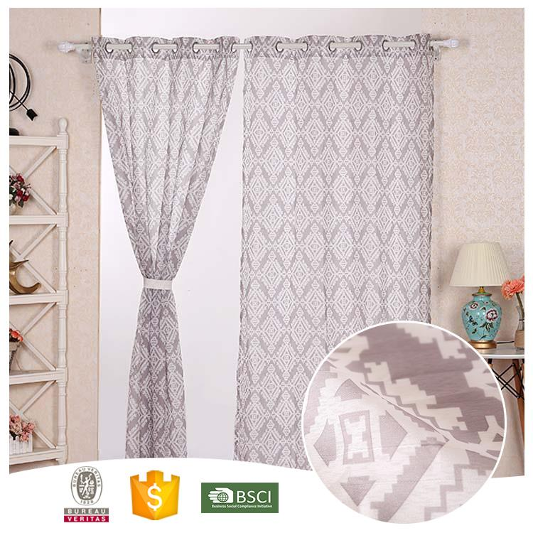 Top 10 Useful Floral kitchen window curtain fabrics
