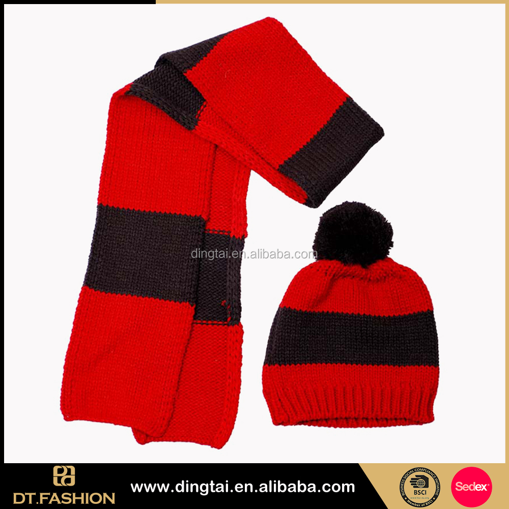 Latest fashion knit caps mens polar fleece ski beanie hat