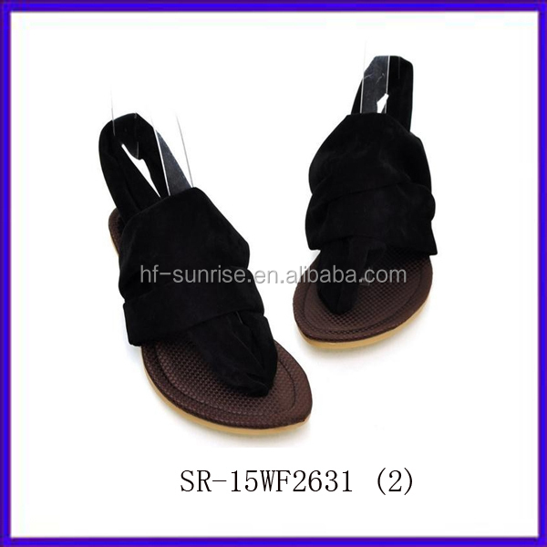 SR-15WF2631 (2) fashion flat summer sandals 2014 for women new Roman style ladies fashion flat sandals china wholesale sandals