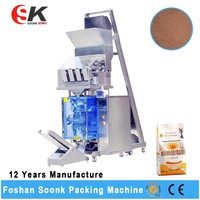 Automatic Detergent Washing Powder Packing Machine with 4 Head Weigher