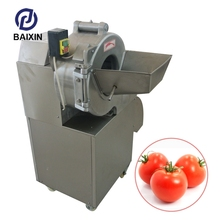 300-800Kg/H Commercial Potato Chips Slicer Machine Carrot Cutter
