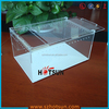 Customized acrylic reptile pet display cages terrariums
