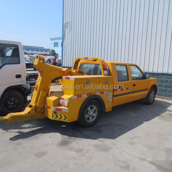 high quality factory sale 4*2 JMC pickup type 3ton rotator tow truck for sale