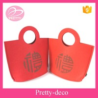 Promotional bags 5mm felt gift bag for putting presents
