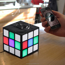 Magic Cube Bluetooth Speaker with FM Radio TF card socket hands Free Call