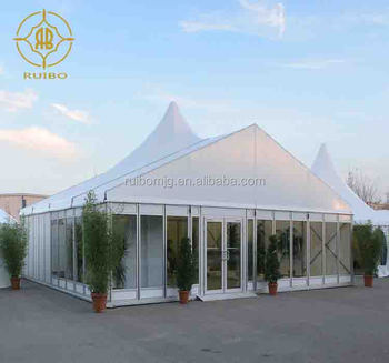 Ruibo latest  Pagoda Tent with PVCcover and sidewall,  Party Tents