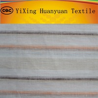 100% Yarn Dyed Striped Cheap Linen Fabric For Dress,shirt from china