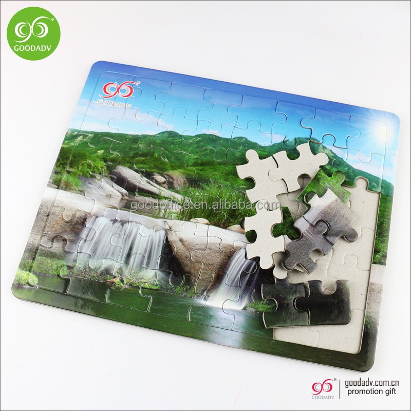 Factory wholesale Various jigsaw cheap educational Paper puzzle