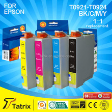 compatible Ink Catridge for Epson cartridge T0921 series,reasonable price with good quality