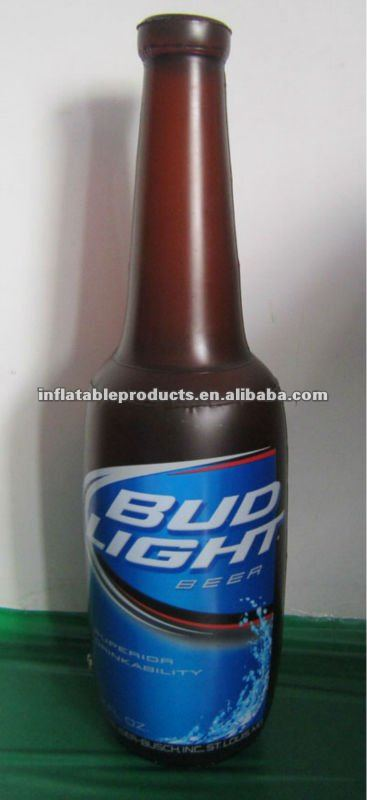 PVC inflatable beer bottle for promotion
