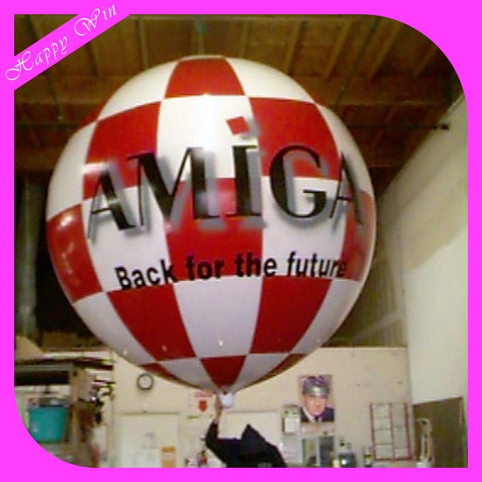 2017 New Advertising Inflatable Outdoor Events Helium Balloons /Big Brand flying balloon for advertising