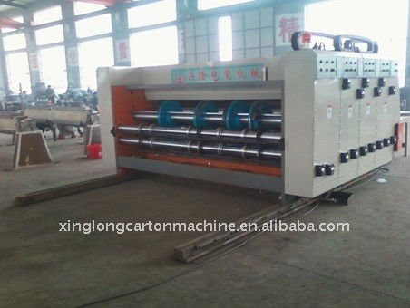 CE certificate corrugated carton printer slotter machine
