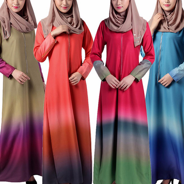 Islamic Clothing Wholesale Pakistani Casual Long Sleeve Dresses For Muslim Women
