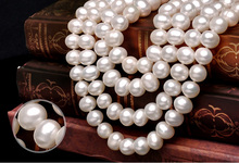 Genuine freshwater stylish hyderabad pearl set wholesale