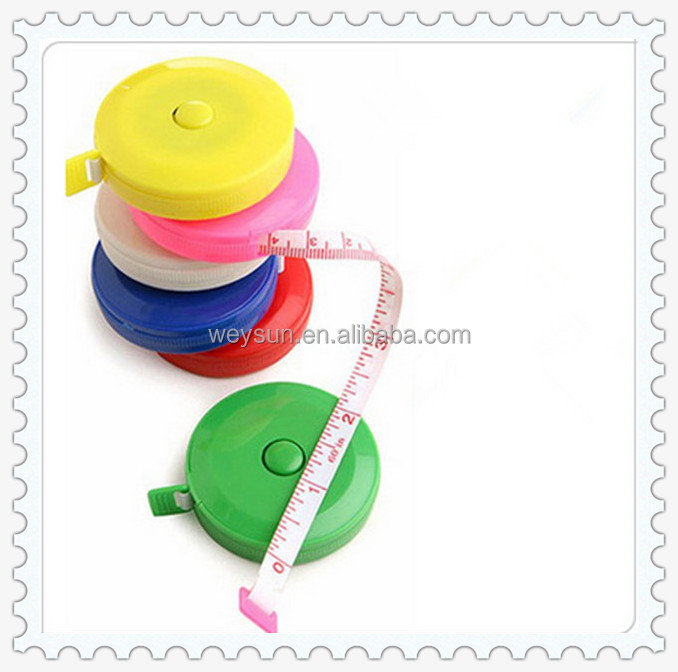Retractable Ruler Tape <strong>Measure</strong> 60 inch Sewing Cloth Dieting Tailor