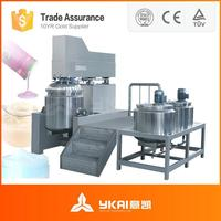 Vacuum Homogenizer Continuous Mixing Machines Food