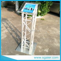 Triangle Clear Acrylic Lectern / Podium/smart podium