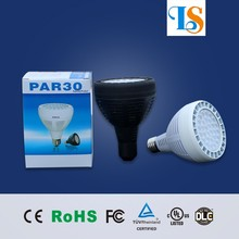 Show true colors 30w 35w 40w 45w LED par 30 bulb as commercial lighting with UL Energy-star listed